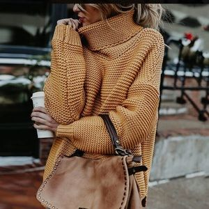 Sweaters - 🌼ONLY 1 LEFT 🌼 Chunky Knit Turtleneck Sweater  S